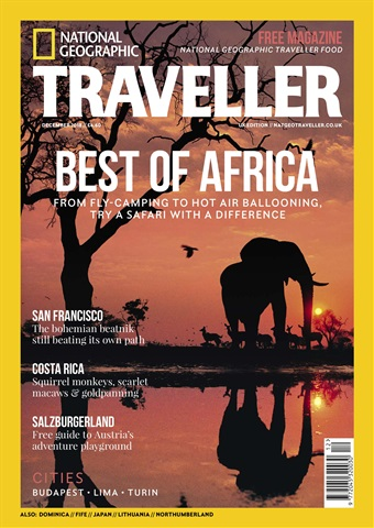 National Geographic Traveller (UK) issue December 2018