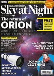BBC Sky at Night Magazine Magazine Cover