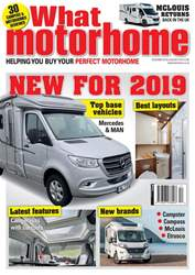 What Motorhome magazine issue New for 2019 - What Motorhome Dec 18/Jan 19