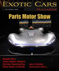 Exotic Cars Magazine issue October 2018