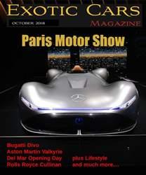 Exotic Cars Magazine issue October 2018