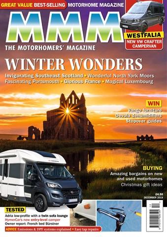MMM magazine issue Winter Wonders – December 2018