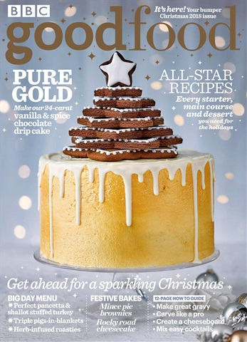 BBC Good Food issue Christmas 2018