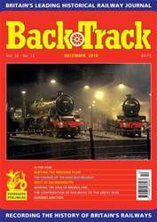 Backtrack issue December 2018