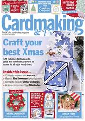 Cardmaking & Papercraft issue Christmas 2018