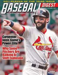 Baseball Digest issue Nov/Dec 2018