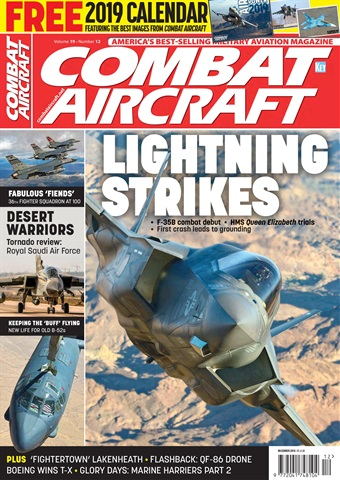 Combat Aircraft issue   December 2018
