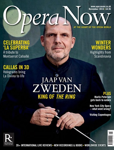 Opera Now issue November 2018