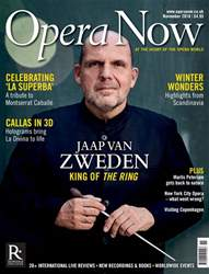 Opera Now issue November 2018