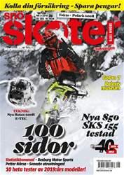 Tidningen Snöskoter Magazine Cover