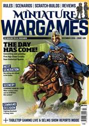 Miniature Wargames issue December 2018 (428)