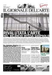 Il Giornale Dell'Arte issue Novembre