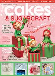 Cakes & Sugarcraft issue December/January 2018-19