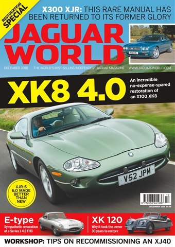 Jaguar World issue December 2018