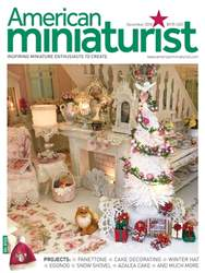 American Miniaturist issue December 2018