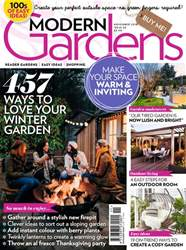 Modern Gardens issue November 2018
