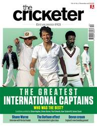 The Cricketer Magazine issue November 2018