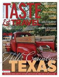 Taste & Travel International issue Fall 2018