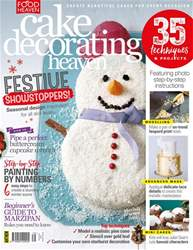 Cake Decorating Heaven issue Nov/Dec 18