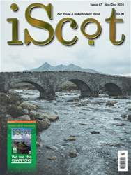 iScot Magazine issue November/December 2018
