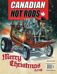Canadian Hot Rods issue CANADIAN HOT RODS DEC/JAN 2019
