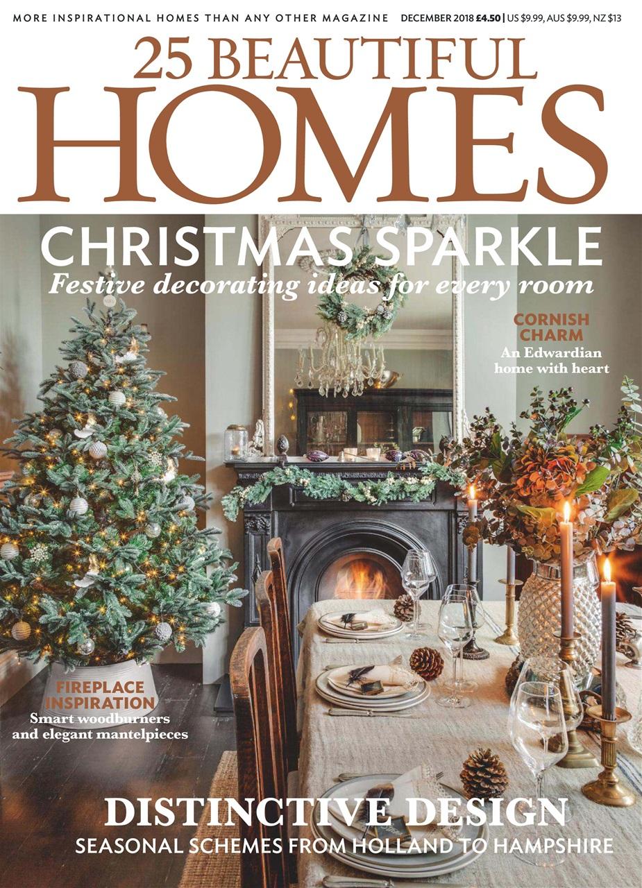 25 beautiful homes magazine december 2018 subscriptions pocketmags rh pocketmags com