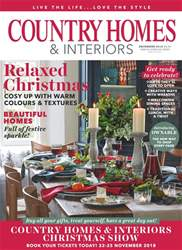 Country Homes & Interiors issue December 2018