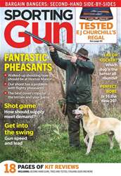 Sporting Gun Magazine Cover