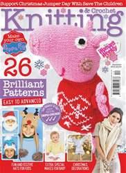 Knitting & Crochet Magazine Cover