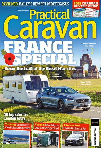 Practical Caravan issue December 2018