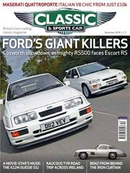 Classic & Sports Car issue December 2018