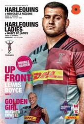 Harlequins issue Vs Falcons PRC