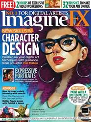 ImagineFX issue Xmas 2018