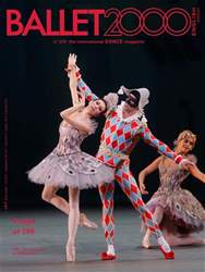 BALLET2000 English Edition Magazine Cover