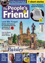 The People's Friend issue 10/11/2018