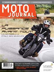 Moto Journal issue Nov/Déc 2018