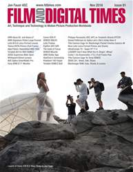 Film and Digital Times Magazine Cover