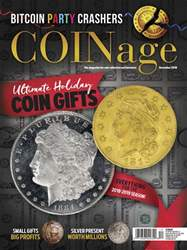 COINage issue December 2018