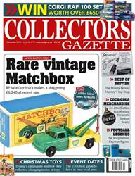 Collectors Gazette issue December 2018