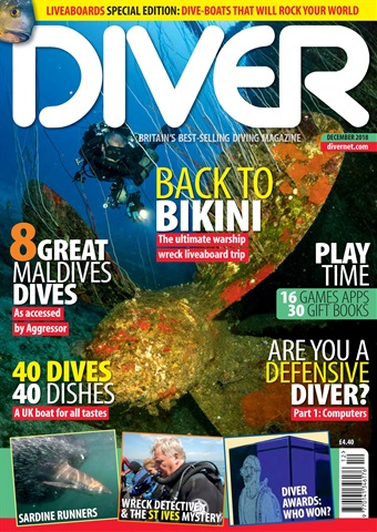 DIVER issue DECEMBER 2018