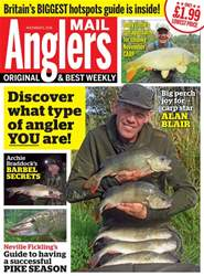 Anglers Mail issue 6th November 2018