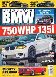Performance BMW issue December 2018