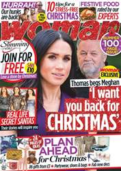 Woman issue 19th November 2018