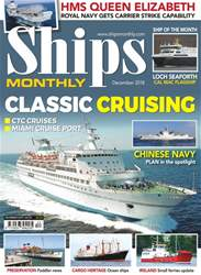 Ships Monthly issue December 2018