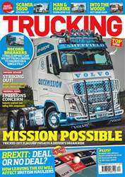 Trucking Magazine issue December 2018
