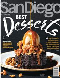San Diego Magazine issue Best Desserts