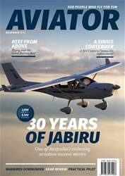 Aviator issue November 2018