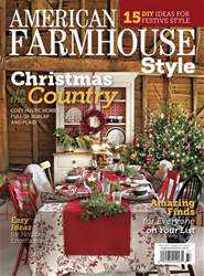 American Farmhouse Style issue Winter 2018