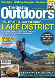 TGO - The Great Outdoors Magazine issue December 2018