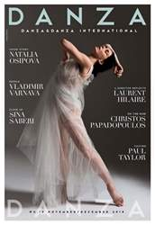 DANZA&DANZA International Magazine Cover